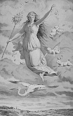 Ostara die Frühlingsgöttin